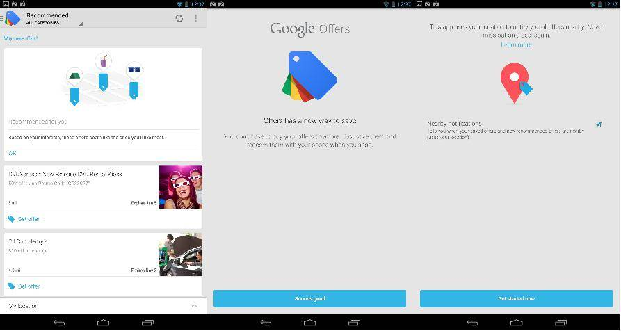 Google Offers updated with new UI, better redemption option