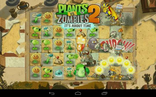 Plants Vs  Zombies 2 is available now on the Play Store