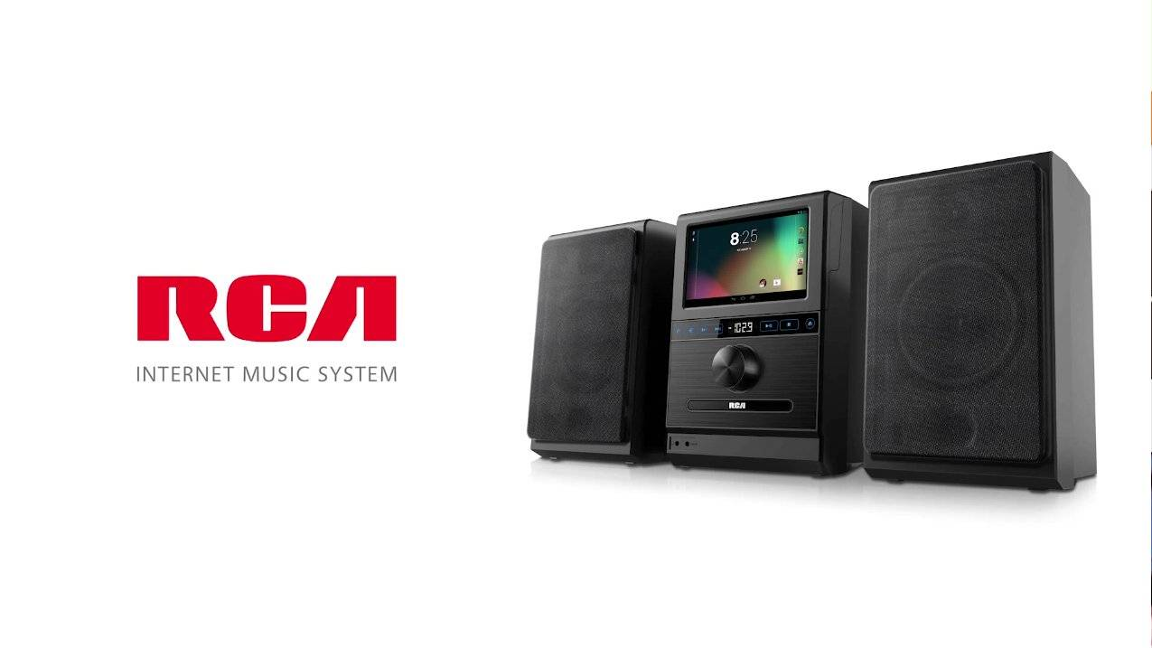 Rca Internet Music System Melds Cd Stereo And Tablet