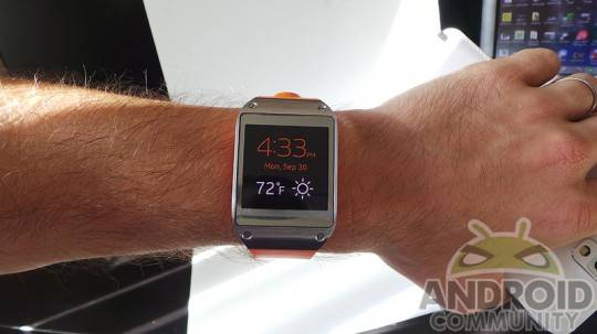 Samsung Galaxy Gear Manager app update improves notifications