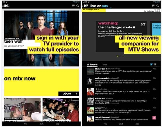 MTV app arrives with full episodes and companion viewing experience
