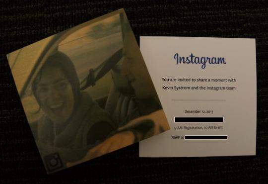 instagram invitation