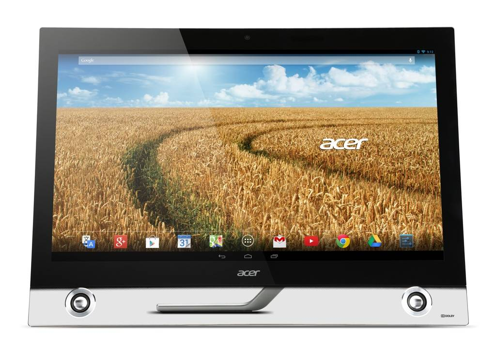 Acer TA272HUL straight on