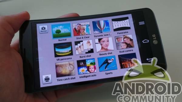 LG G Flex Camera Modes