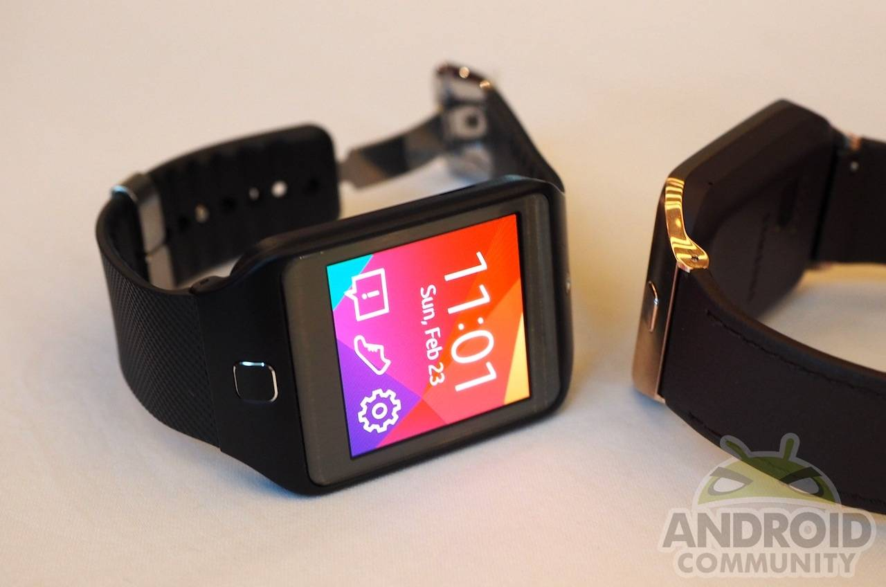 Samsung gear 2 and gear 2 neo hands on android community