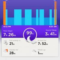UP Android Sleep Summary