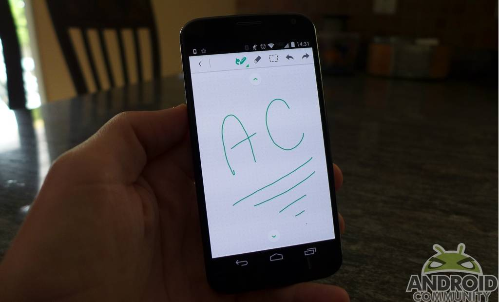 evernote-android-handwriting