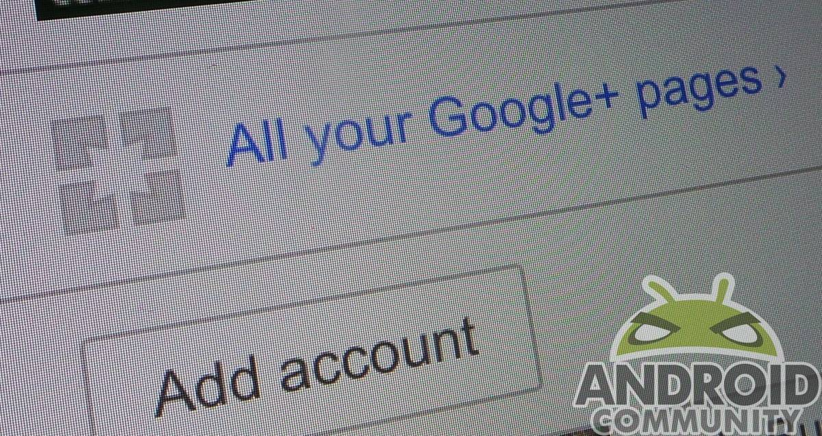 Google+ Pages AC