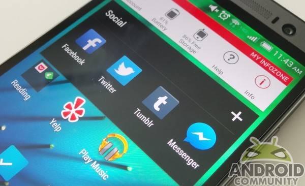 HTC One Folder AC