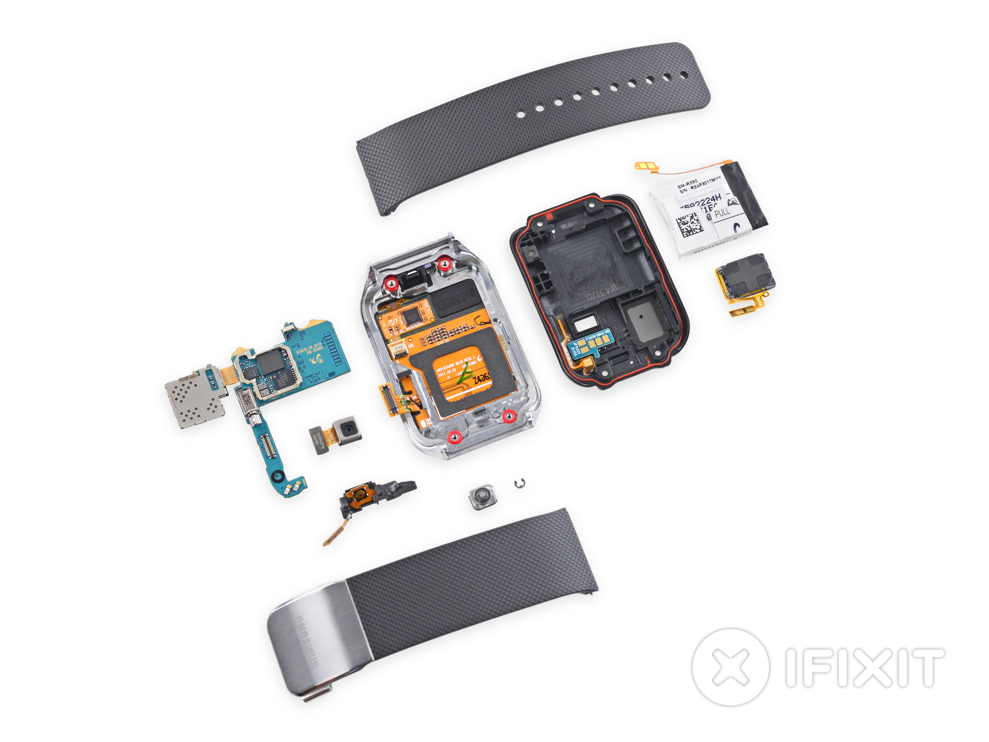 Samsung Gear 2 iFixit teardown shows some potential for repair