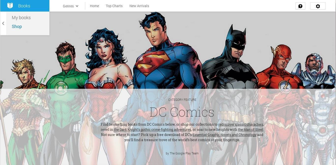 google-play-dc-comics