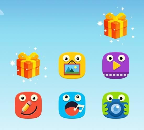 kids-mode-galaxy-s5-present-icons