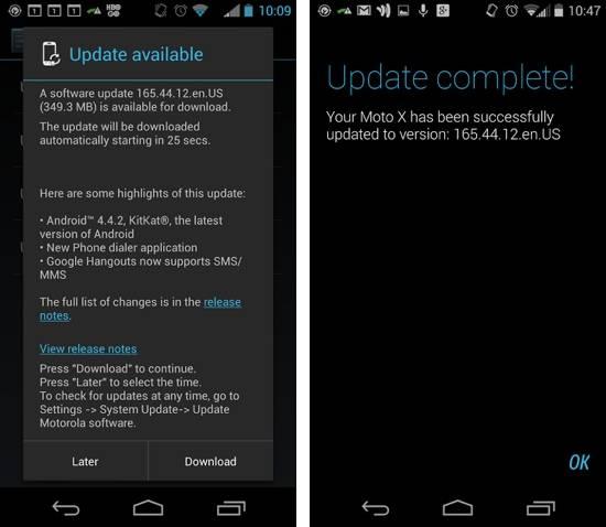 Republic Wireless Moto X Kit Kat update now rolling out