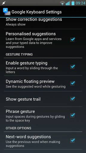 Android L keyboard APK available for non-rooted devices