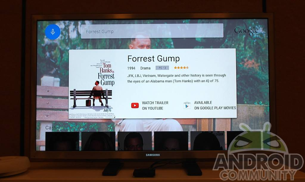 Android TV hands-on: Google's real living room presence - Android