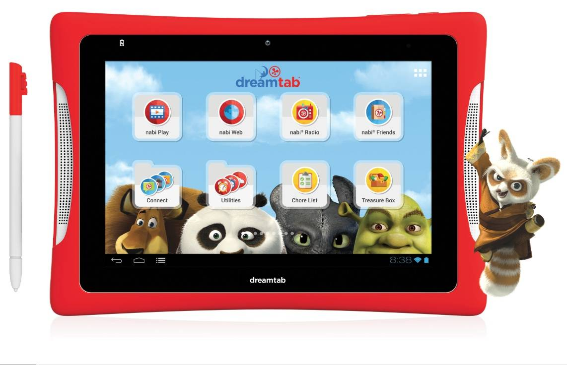 Fuhu nabi DreamTab HD8 might be the kids tablet to root for