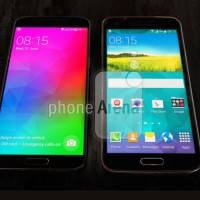 New pic of Samsung Galaxy F (S5 Prime) shows sexy bezels