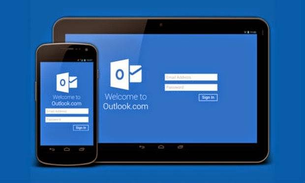 Outlook Android app update: server search,offline access