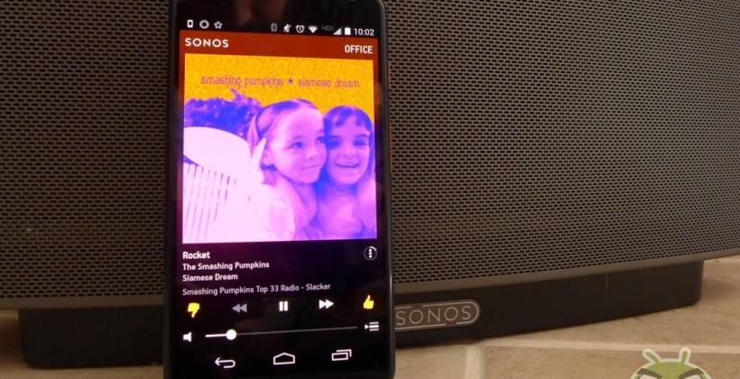 play downloaded music on android