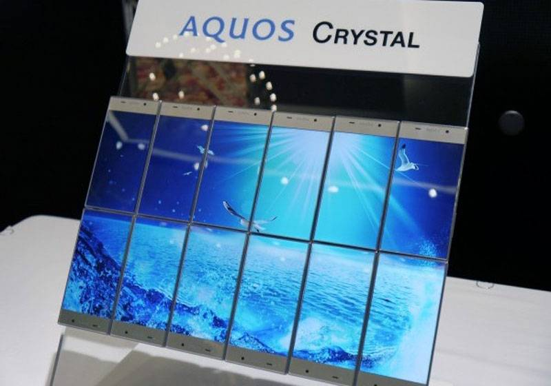 Sharp Aquos Crystal smartphone gets its official video