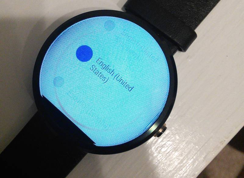 Moto 360 Image burn-in after charging