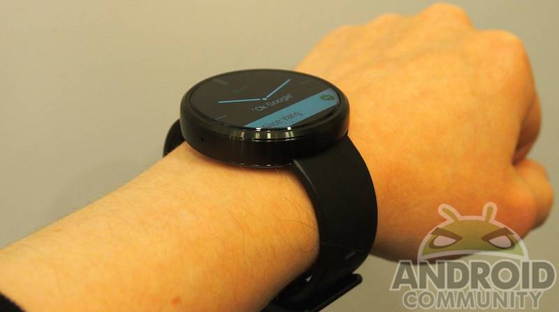 Moto 360 Android Wear Firmware update