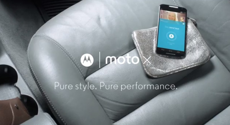 Moto X YouTube ads