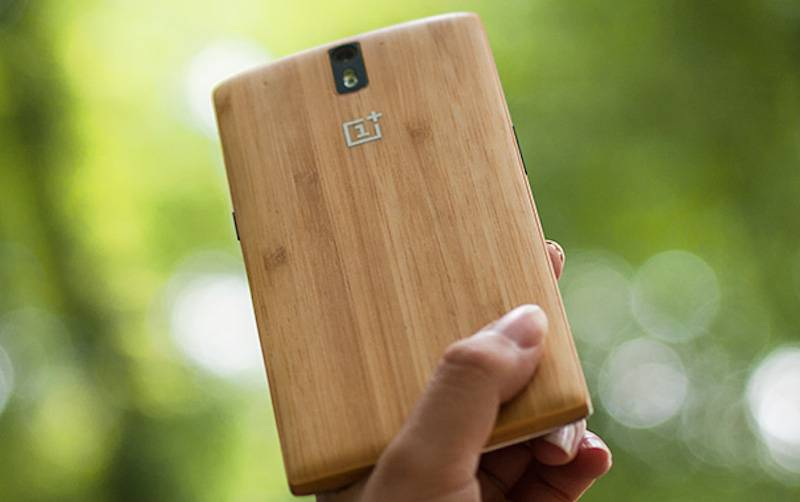 OnePlus One Bamboo StyleSwap Cover