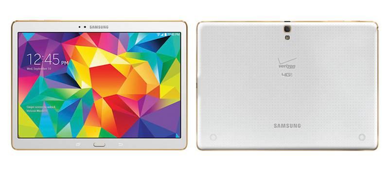 Samsung Galaxy Tab S 10.5 with Verizon 4G LTE