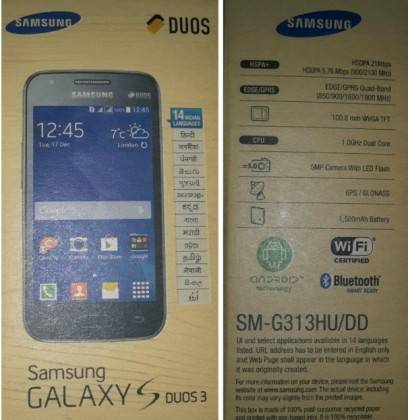 Samsung to launch Galaxy S DUOS 3, gets KitKat upgrade