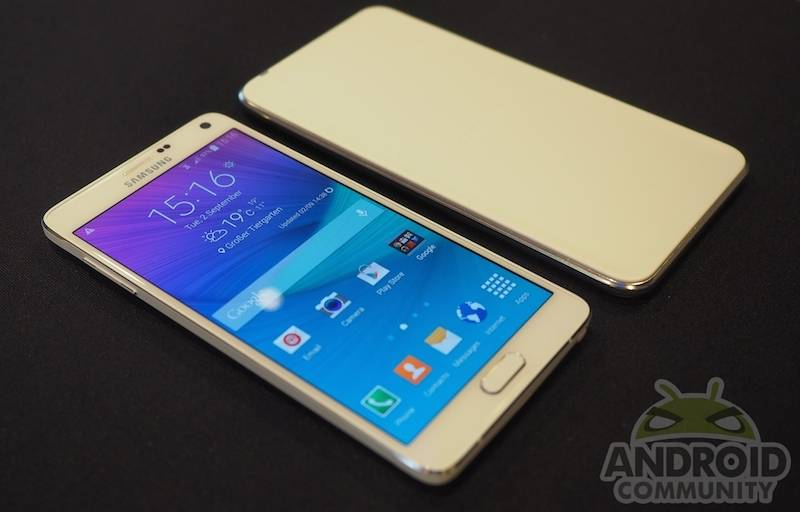 Samsung Galaxy Note 4 Android Community Hands on