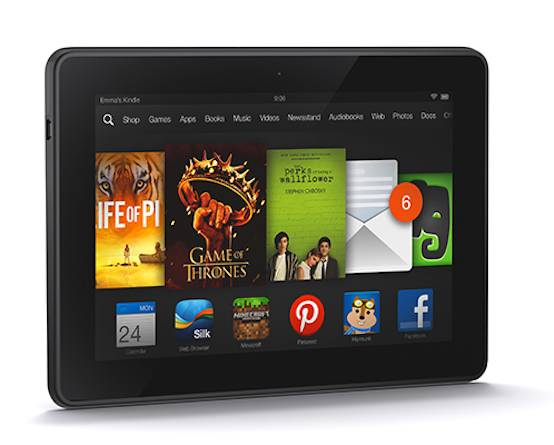 Amazon Kindle Fire HDX 7 - 32 GB - Black