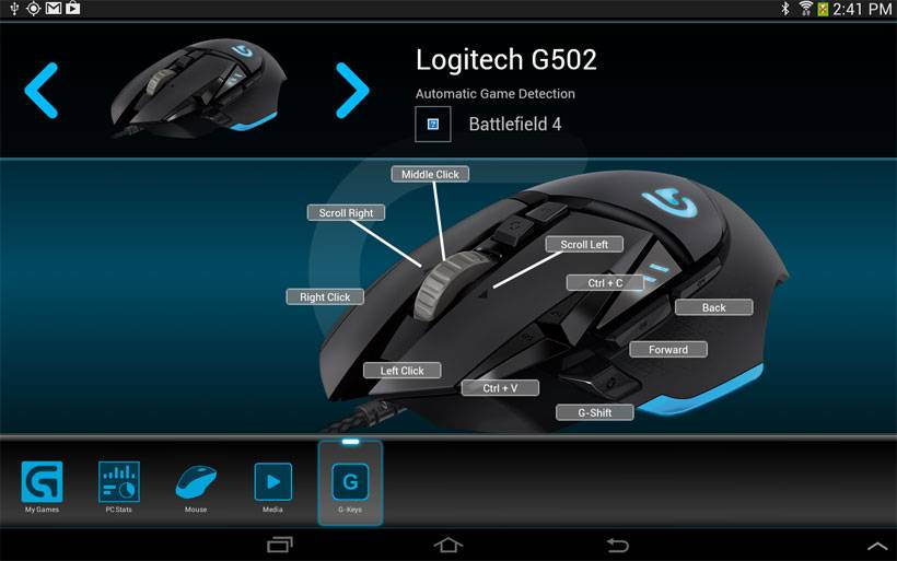 Logitech Arx control brings PC gaming info to Android