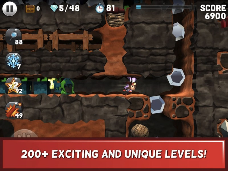 boulder dash 30th anniversary game for android