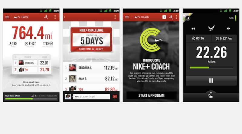 Nike+ Running app Google Fit integration Android
