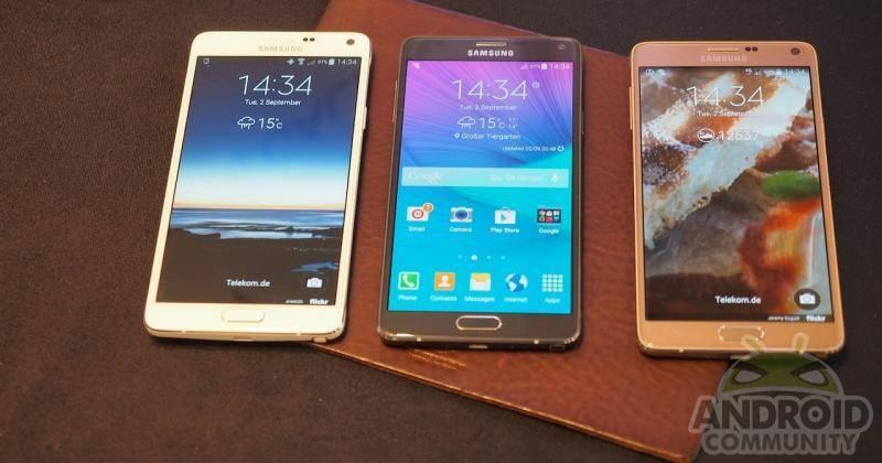 Samsung Galaxy Note 4 LTE Advanced