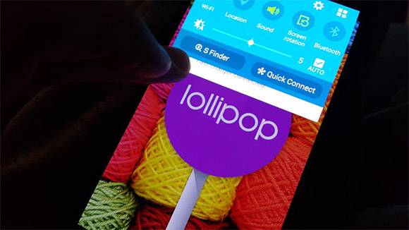 Samsung Galaxy S4 Android Lollipop