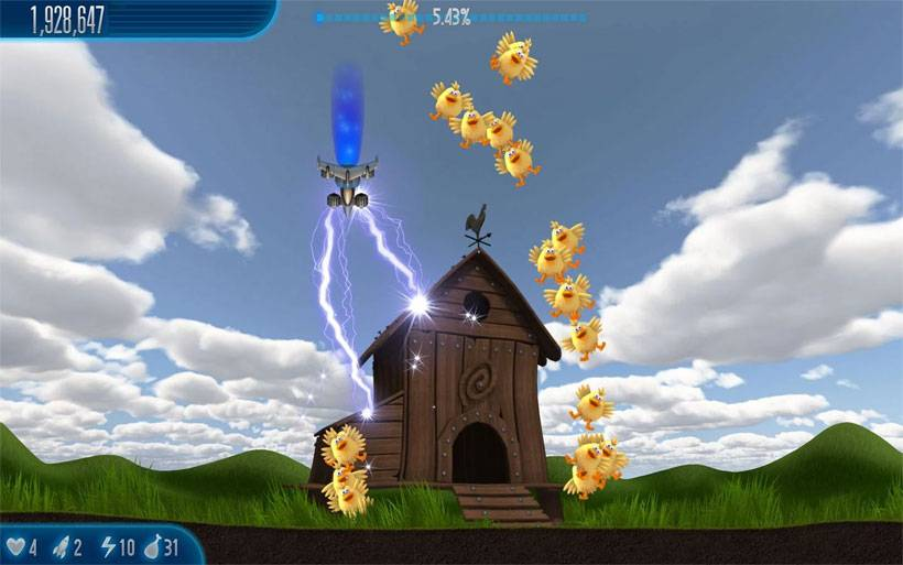 download chicken invaders for android