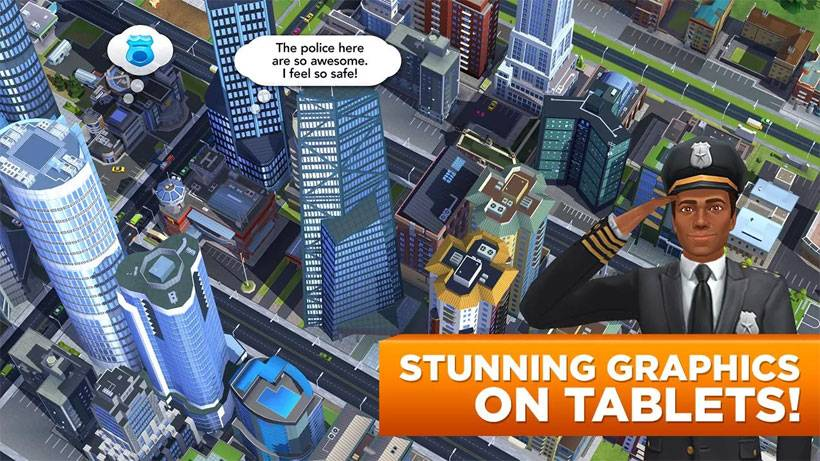 SimCity BuildIt game available for all city builders