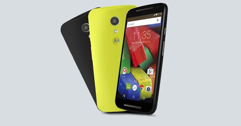 Motorola Moto G Android 5.0 Lollipop