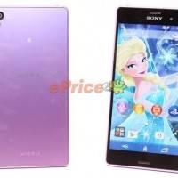 Purple Sony Xperia Z3
