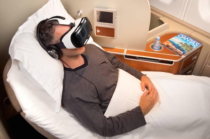 Samsung VR Qantas