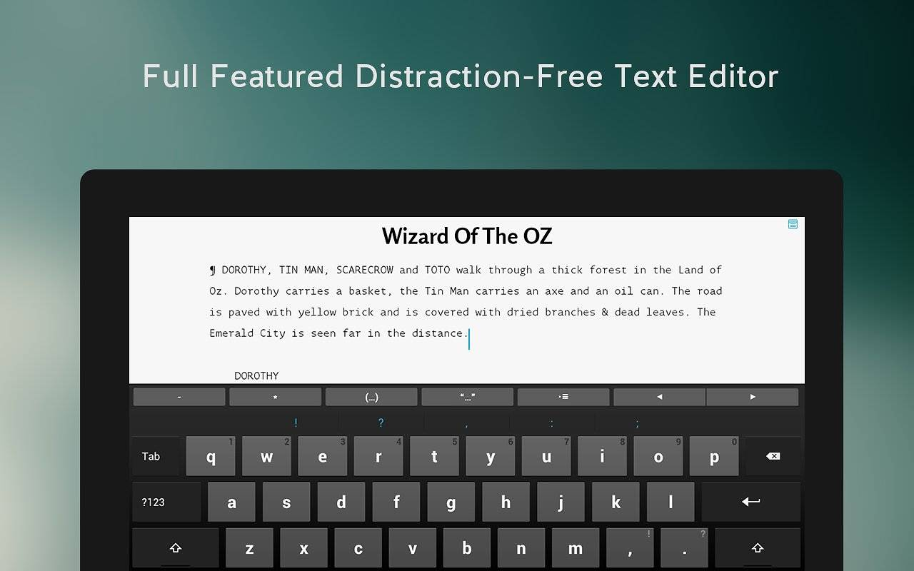 JotterPad 11 is a writer's delight, save work in multiple