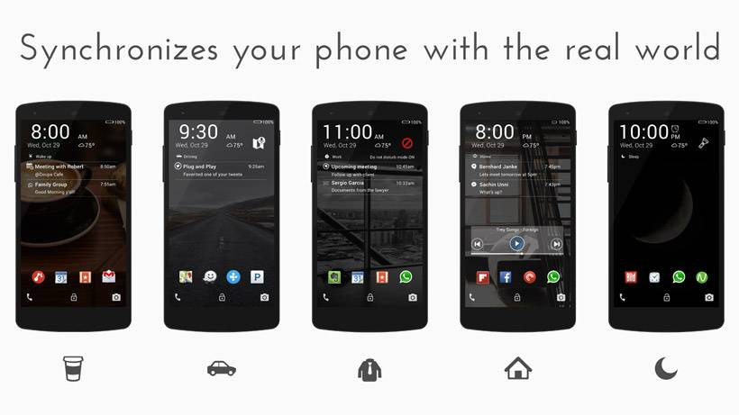 Staytuned Smart Lock Screen lands on Google Play - Android