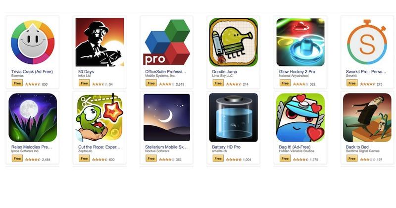 Amazon Free Apps February 2015