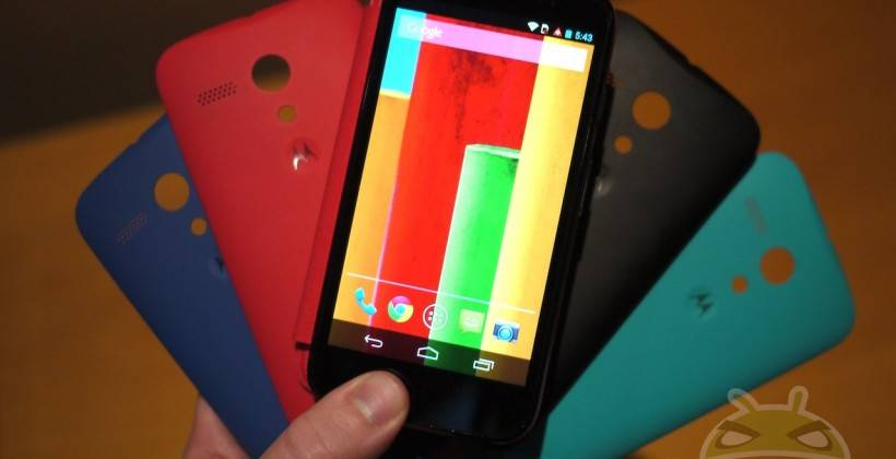 Motorola Moto G 1st Gen Android 5.0 Lollipop Software Update
