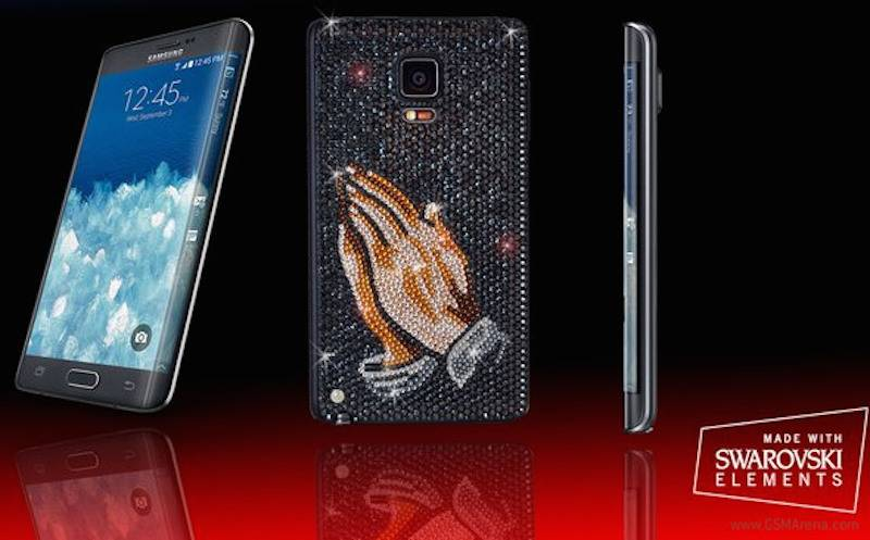 Samsung Galaxy Note Edge with Swarovski