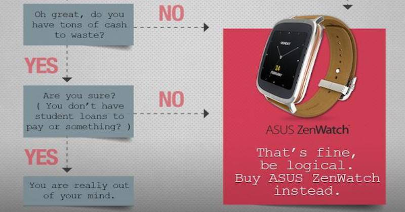 ASUS ZenWatch Ad