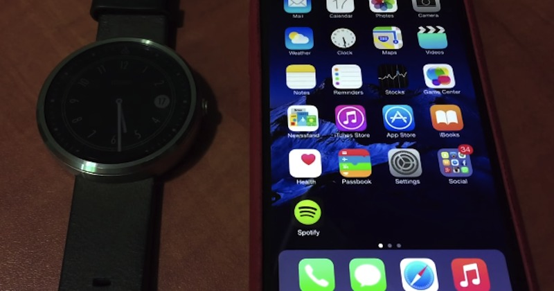Android Wear 4.4 iOS code