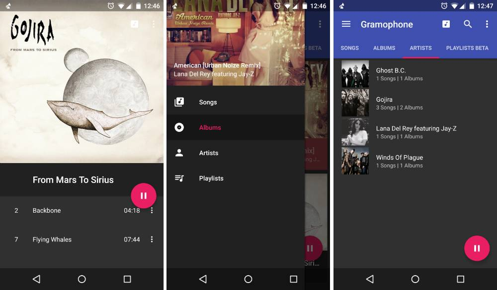 Gramophone is your music player materially designed - Android Community